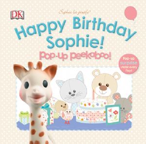 Sophie la girafe: Happy Birthday Sophie!  Pop-up Peekaboo